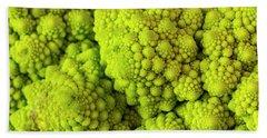 Broccoli Romanesco Hand Towel