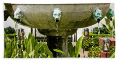 Bronze Civit Head Fountain Bath Towel