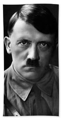 Brooding Portrait Of Adolf Hitler Heinrich Hoffman Photo Circa 1935 Hand Towel