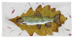 Brook Trout Bath Towel by Ralph Root