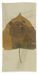 Brow Bear #2 Hand Towel by Ralph Root