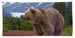 Brown Bear 2 Hand Towel
