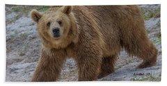 Brown Bear 3 Bath Towel
