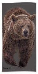 Brown Bear 8   Hand Towel