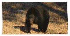 Black Bear Black Bear What Do You See Bath Towel