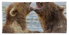 Brown Bears4 Bath Towel