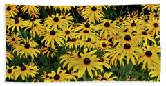 Browneyed Susans Bath Towel by Mikki Cucuzzo
