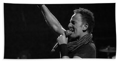Bruce Springsteen In Cleveland Bath Towel