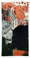 Brudges, Belgium Bath Towel