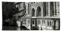 Bruges Medieval Architecture Bath Towel