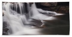 Brush Creek Falls Bath Towel by Mel Petrey