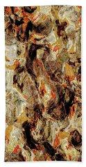 Bath Towel featuring the digital art Brutal Explorer by Matt Lindley
