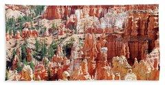 Bryce Canyon Hoodoos Hand Towel by Nancy Landry