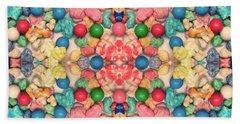 Bath Towel featuring the digital art Bubble Gum #9776 by Barbara Tristan