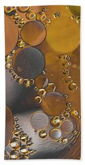 Bubble Motion Abstract Bath Towel
