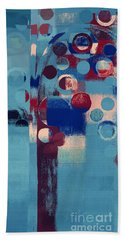 Hand Towel featuring the painting Bubble Tree - 85l-j4 by Variance Collections