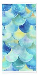 Bubbles Bath Towel by Stephanie Troxell