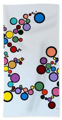 Bubbles2 Bath Towel