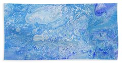 Bubbly Blues Hand Towel