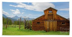 Buckaroo Barn In Rocky Mtn National Park Hand Towel