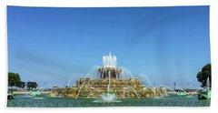 Buckingham Fountain Hand Towel