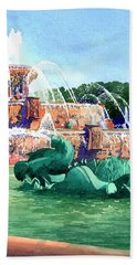 Buckingham Fountain Hand Towel