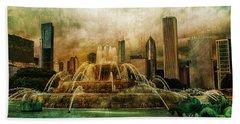 Buckingham Fountain Bath Towel