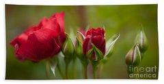 Bud Bloom Blossom Hand Towel