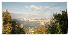Budapest Bath Towel by Yuri Santin