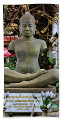Buddha Cambodia  Bath Towel