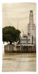 Buenos Aires Lighthouse Hand Towel