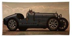 Bugatti Type 35 1924 Mixed Media Hand Towel