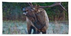 Bugling Elk Hand Towel