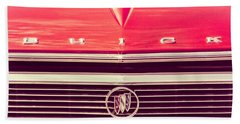 Hand Towel featuring the photograph Buick Retro by Caitlyn Grasso
