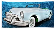Buick Skylark Roadmaster Convertible For 1953 Hand Towel