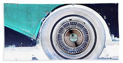 Buick Super Coupe Hand Towel by Cathy Shiflett