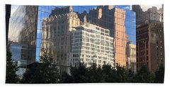 Building Reflections Hand Towel