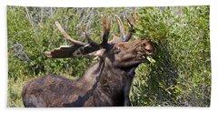 Bull Moose Bath Towel