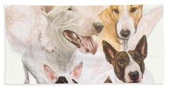 Bull Terrier Medley Bath Towel