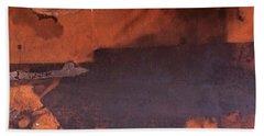 Bullfight Hand Towel by Laurie Stewart