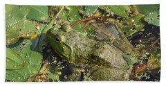 Bullfrog #2 Hand Towel