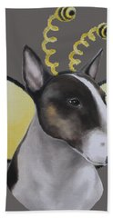 Bully Bee Hand Towel by Jindra Noewi