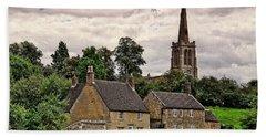 Bulwick Village Northamptonshire Bath Towel