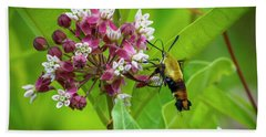Bumblebee Moth 153 Hand Towel