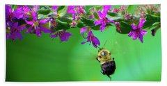 Bumblebee To Nectar Hand Towel