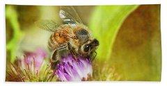 Bumbling Bee Hand Towel