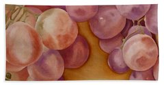 Bunch Of Grapes Hand Towel