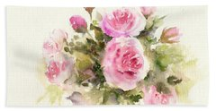 Bunch Of Roses Hand Towel