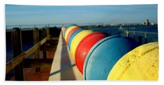Buoys In Line Bath Towel