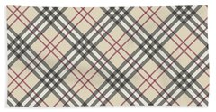 Burberry Pattern Hand Towel
